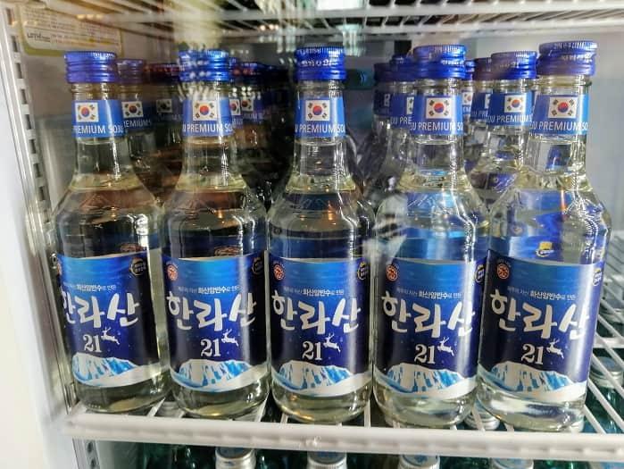 ソウルで飲むチェジュ島焼酎ハルラサン
