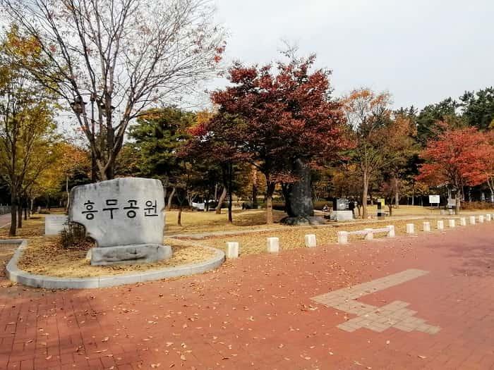 新羅時代金庾信(キム・ユシン)将軍の墓_フンム公園