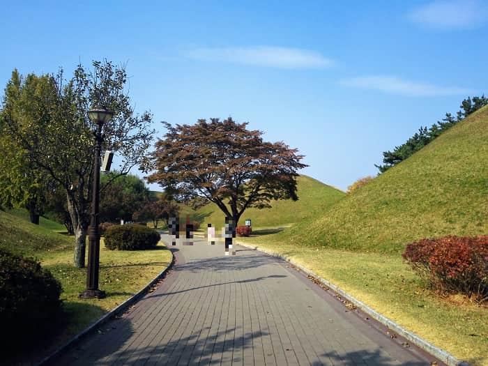 韓国慶州(キョンジュ)大陵苑(テヌンウォン)