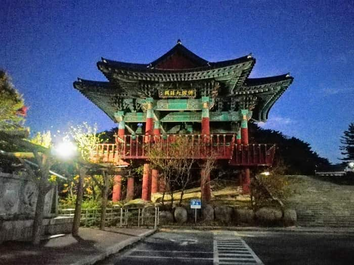 慶州プルグッサ石窟庵の鐘