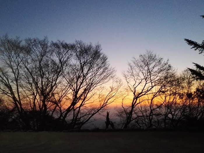 慶州プルグッサ石窟庵の日の出
