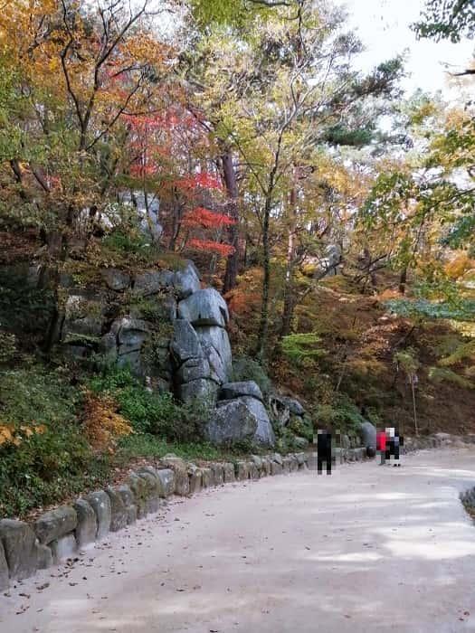 慶州仏国寺ソックラム行きかた