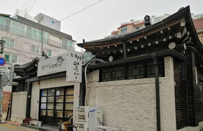 おひとり様OK韓国料理ソウルのハノク造り飲食店