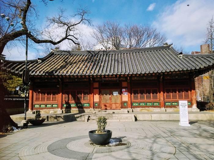 韓国ソウルの郵征総局