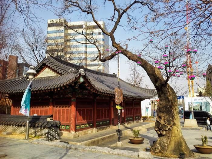 チョゲサ隣韓国ソウルの郵征総局