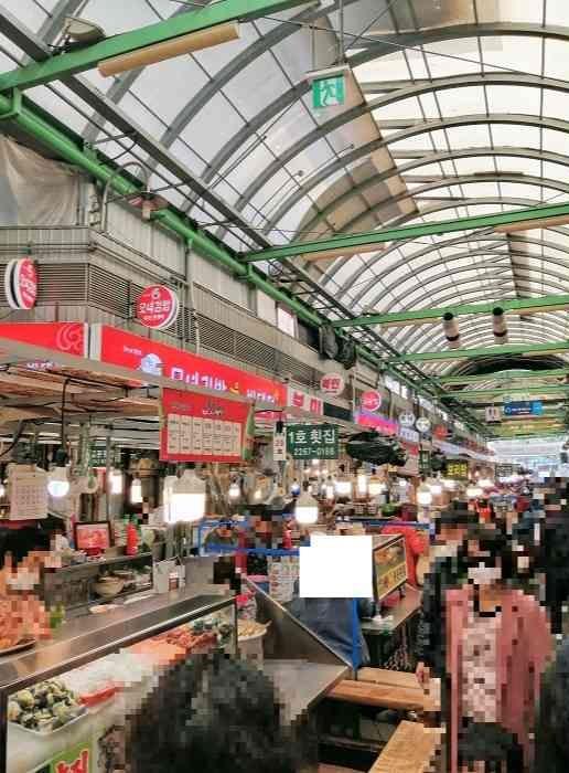 韓国広蔵市場屋台コロナの影響
