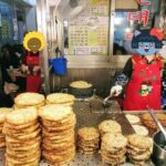 韓国広蔵市場ビンデトック(緑豆チヂミ)スミネ