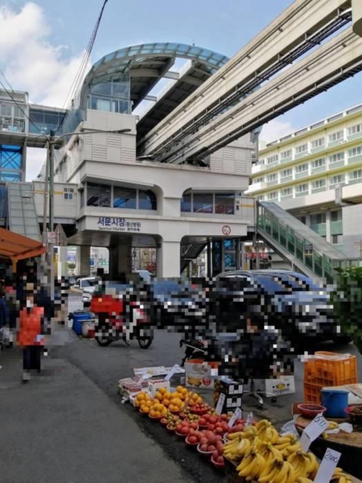 大邱西門市場駅(대구서문시장)