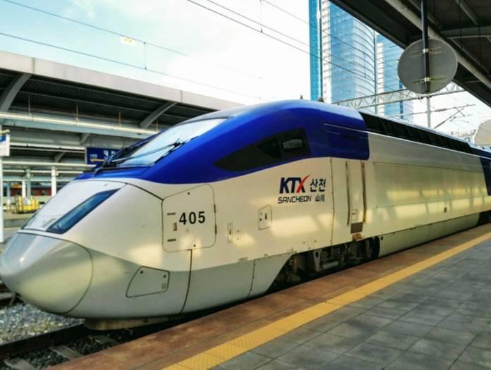韓国の新幹線KTX