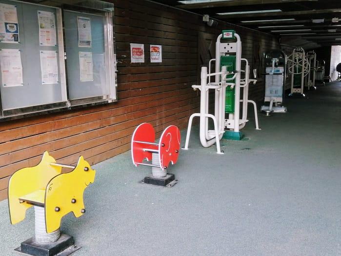 韓国ソウル無料の運動器具