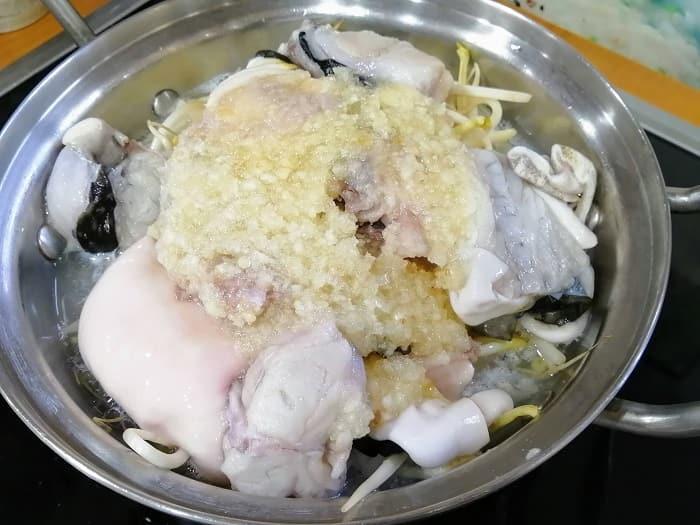 韓国のフグ料理ちり鍋おいしい店