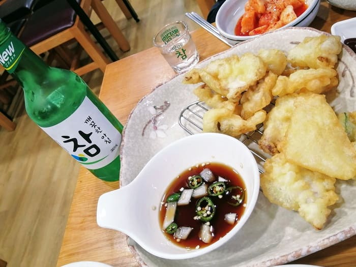韓国のふぐ料理と慶尚道の焼酎チャム