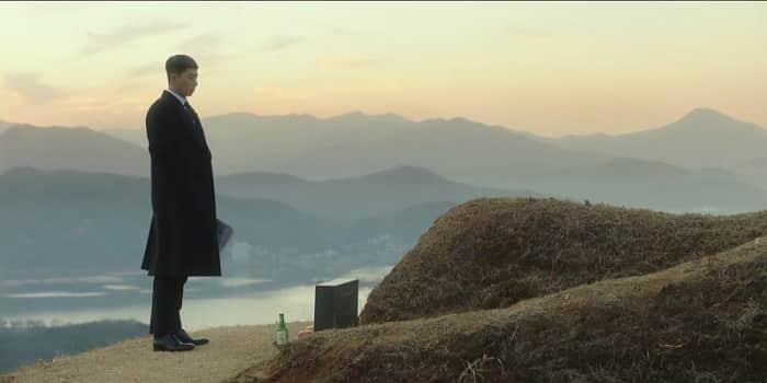 韓国伝統的なお墓、先山(ソンサン)