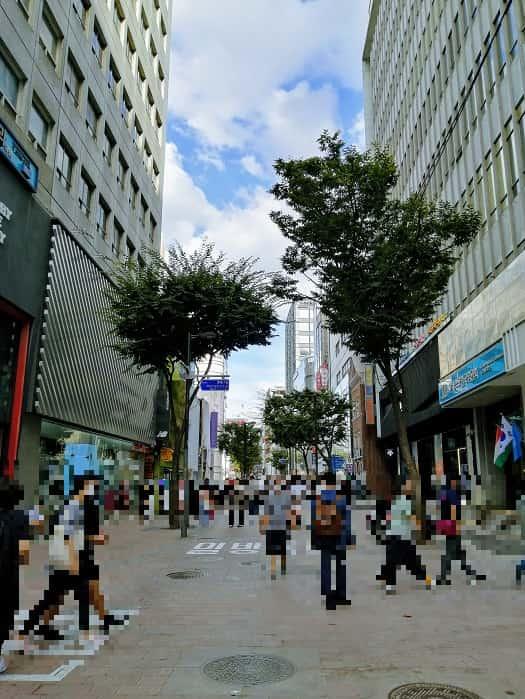 韓国ソウル明洞(ミョンドン)人気の店