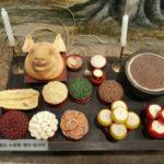 韓国農協の農業博物館の展示