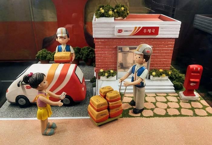 韓国の郵便局、ポスト